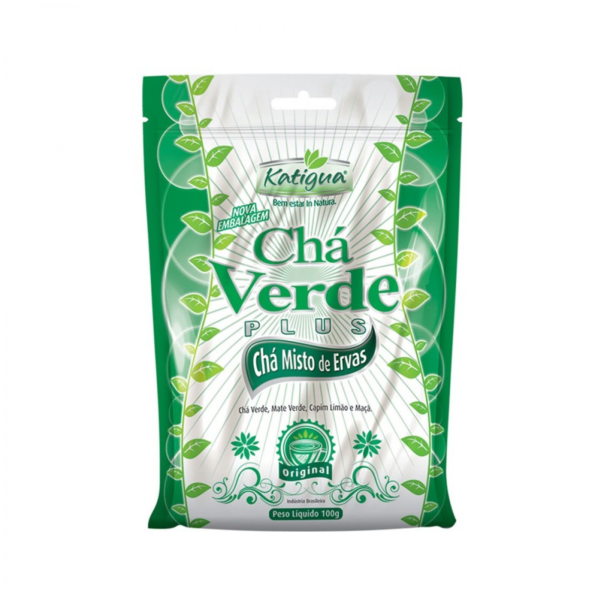 Chá Verde Plus -main