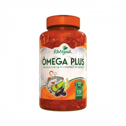 Ômega Plus  120 Cápsulas de 1000mg
