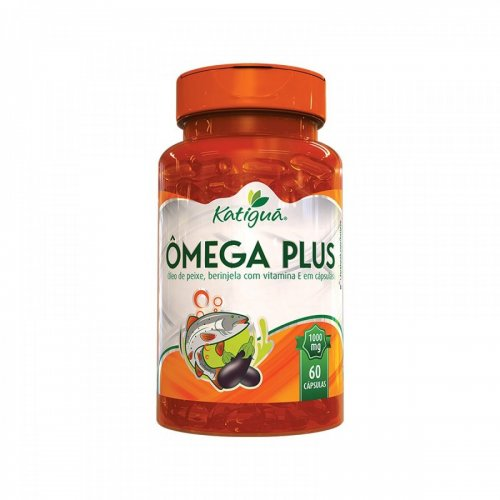 Ômega Plus 60 Cápsulas de 1000mg